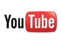 Click the YouTube logo to view clips of Martin's work.